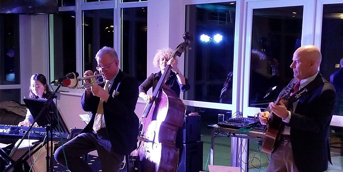 Chris Hodgkins International Quartet live at Fougou Jazz May 2019