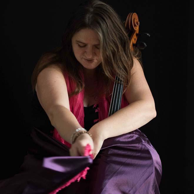 Shirley Smart cellist