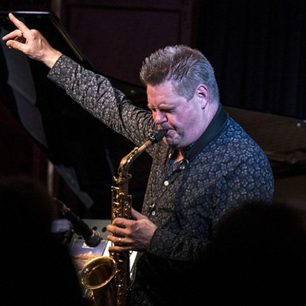Derek Nash saxophonist
