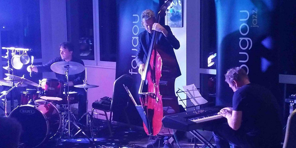 Daniel Karlsson Trio live at Fougou Jazz, Torbay